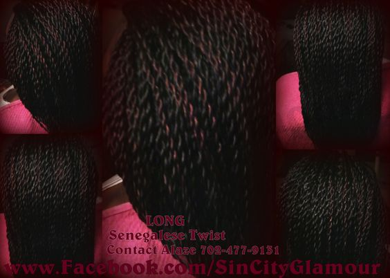 ... Las Vegas Twist Natural Hair Protective Styles Afro Kinky Hair Havana