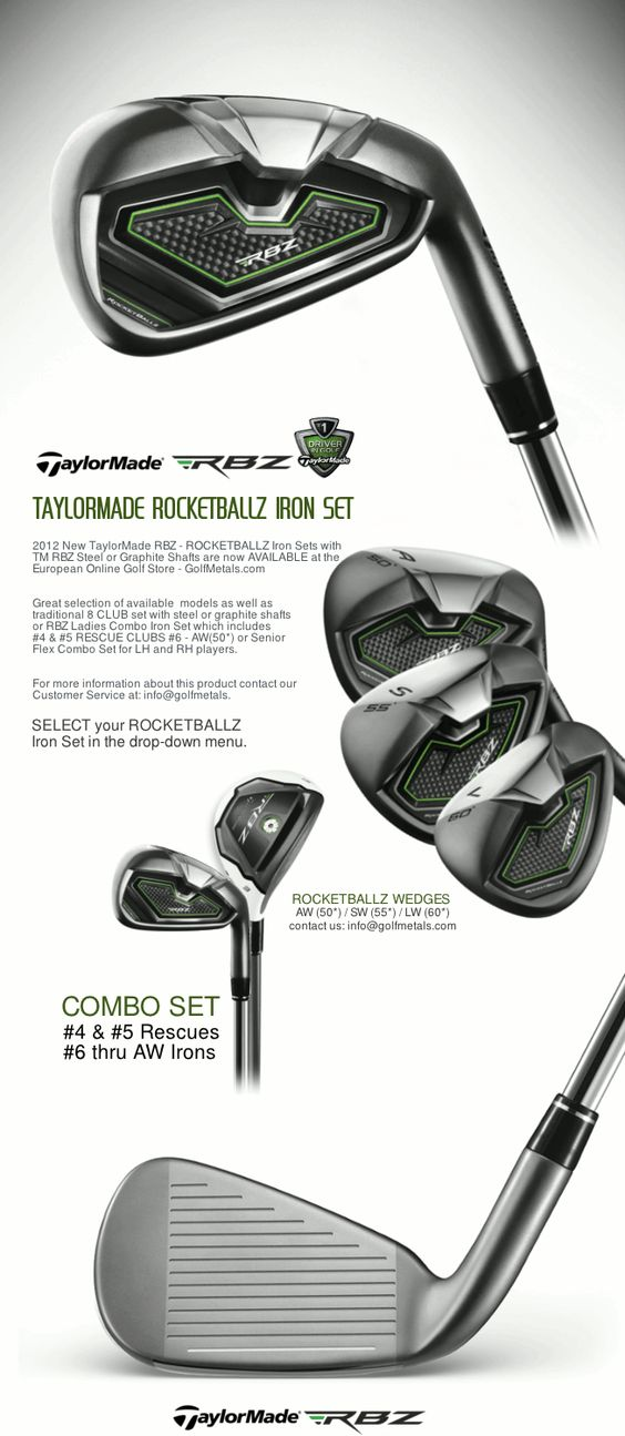 Taylormade, Irons and Women's on Pinterest