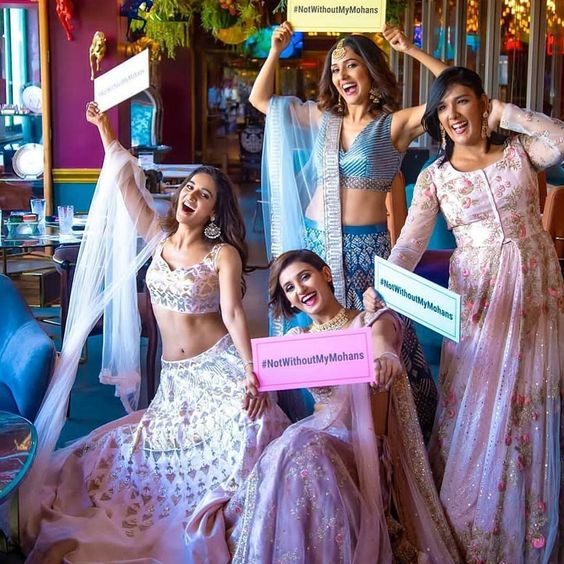 Neeti Mohan's Magical Pre Bridal Shoot With Her Sisters Will Give You Major Sibling Goals - HungryBoo