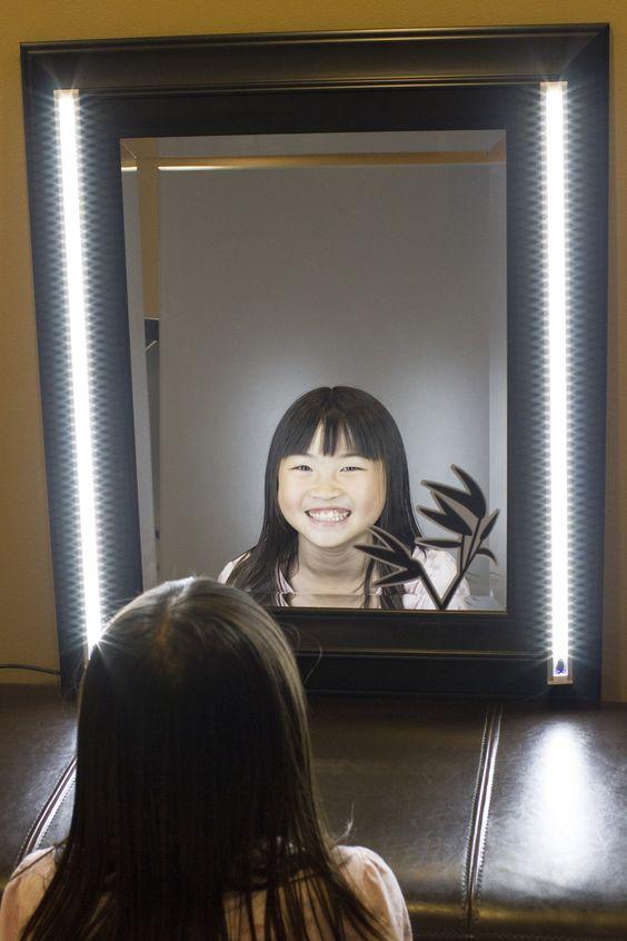 2pcs Make Up Mirror White LED Light Professional Series Pinterest A Profe