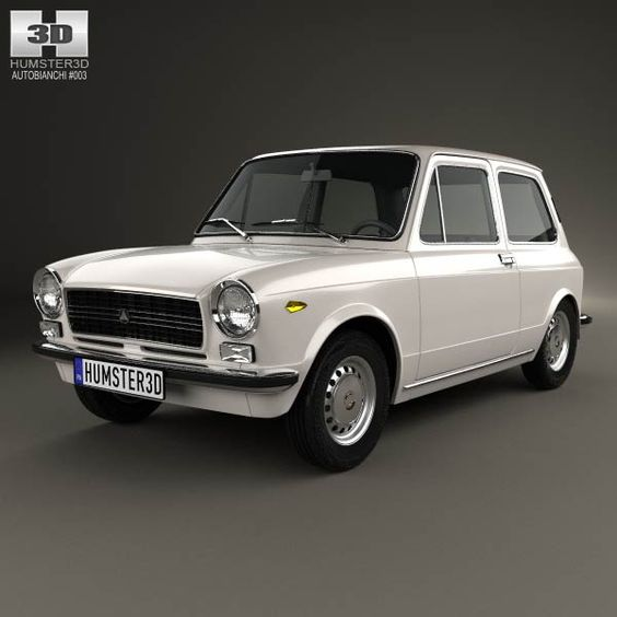 Autobianchi A112 E 1971 3d model from humster3d.com. Price: $75