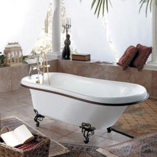バスルーム 猫足バスタブ おしゃれ リラックス 癒し かっこいい リッチ つかりたい 泡風呂したい 足を出してスーっとしたい 清潔感 猫足バスタブ バスタブ バスルーム