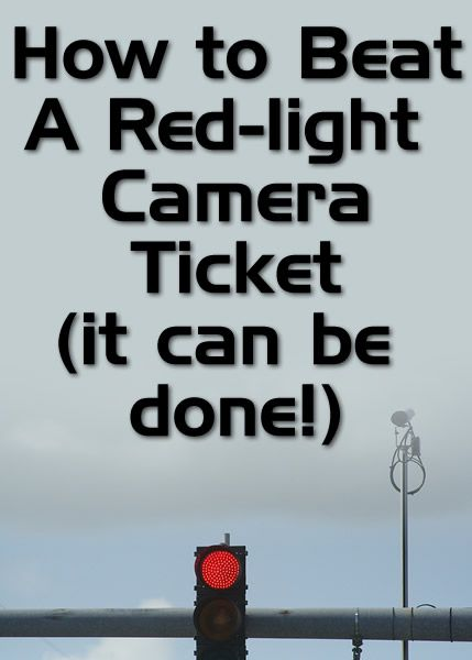 Http Www Anunfairedge Com How To Beat A Red Light Camera