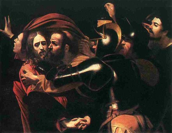 The Taking of Christ, Caravaggio — Bestarts.org: