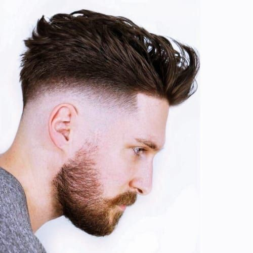 56 Trendy Bald Fade With Beard Hairstyles Men Hairstyles World Bald Fade Beard Hairstyle Beard Fade