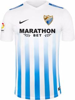 Malaga Home Kit 2016 17 Soccer Kits Football Kits Team Shirts