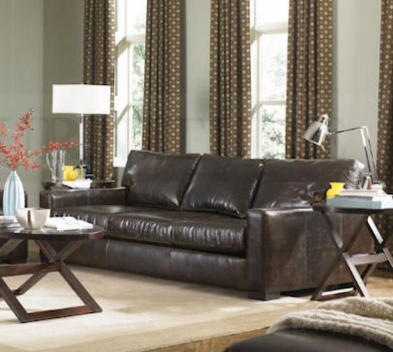 This is the maxwell sofa from restoration hardware by the for Who manufactures restoration hardware furniture