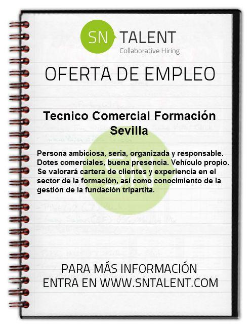 #Tecnico #Comercial Formación en #Sevilla