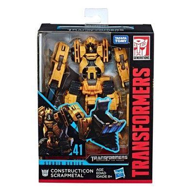Transformers Studio Series 41 Deluxe Class Constructicon Scrapmetal Figure