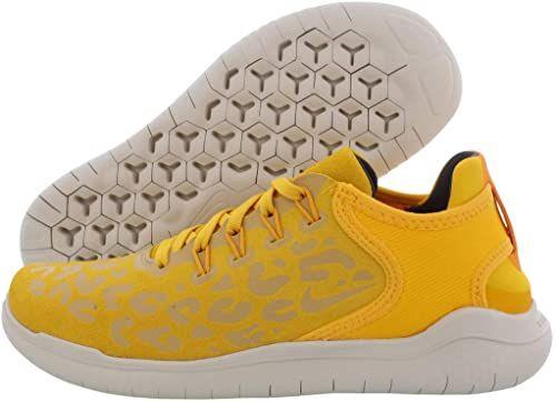 Suede Low Top Running Shoe