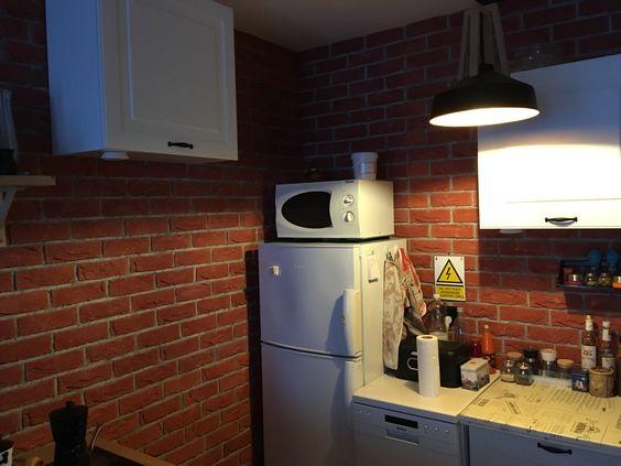 Кухня в квартире с удобствами