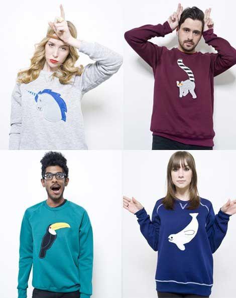 Animal Sweaters!!! The unicorn...
