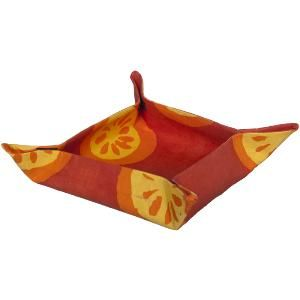 For the Home Velcro Basket - Citrus: Orange - One Size