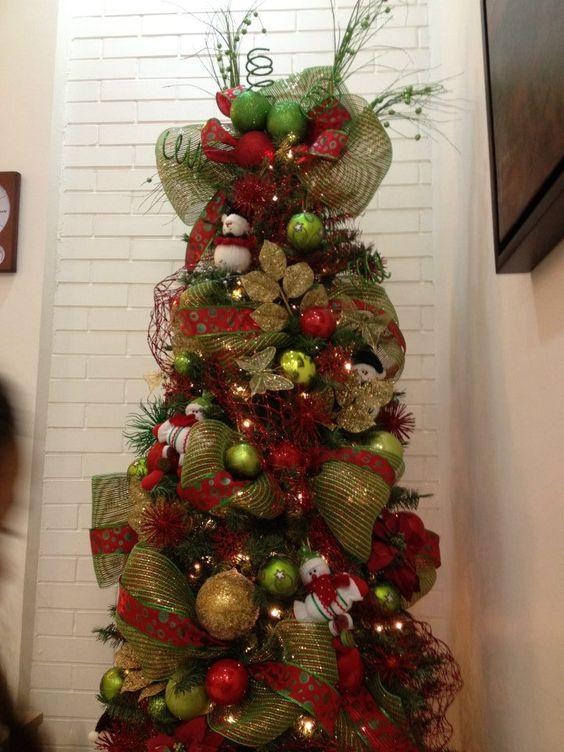 Ideas para decoracion de arbol de navidad 2016 navidad y - Ideas para arreglos navidenos ...