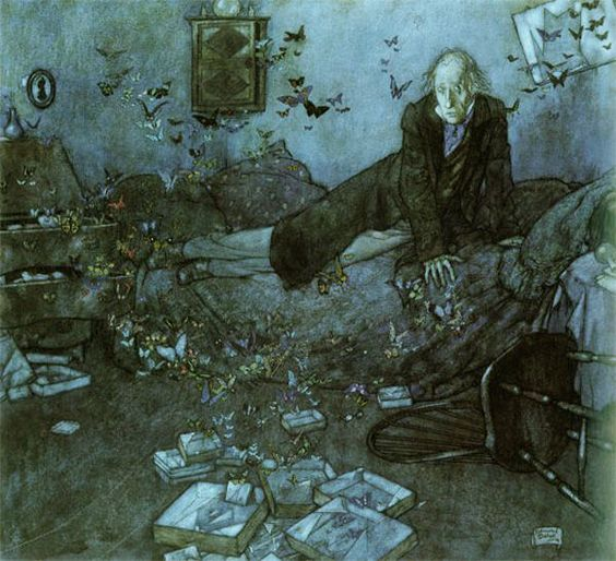 The Entomologist's Dream by Edmud Dulac
