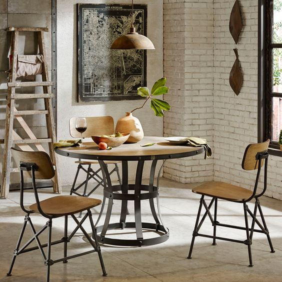 Concrete Dining Table Dining Tables And Tables On Pinterest