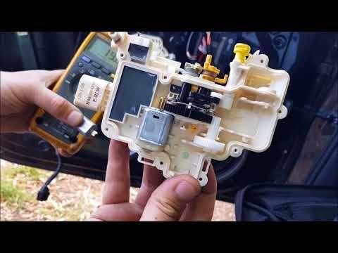 Audi B8 A4 Door Lock Repair Youtube Lock Repair Repair Door Locks