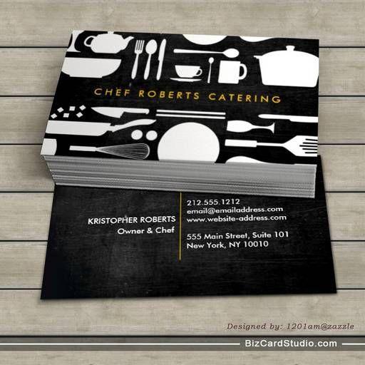 Black And White Kitchen Collage No 4 Business Card Collages Plantillas Para Tarjetas De