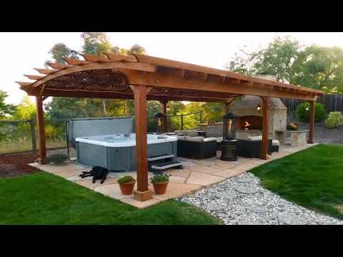 Japanese Patio Design Ideas Youtube With Images Hot Tub