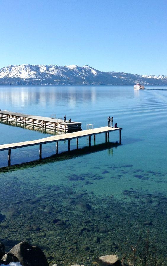 Lake Tahoe Wallpaper Lake Tahoe Summer Mountains Hd: Lake Tahoe From Zephyr Point It's My Lock Screen Wallpaper