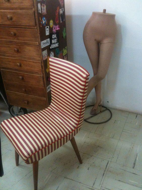 Cadeira vintage Concepção e execução Zeca do @Retrozaria Art Cliente: Escola São Paulo