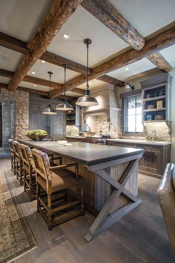 mountain kitchen