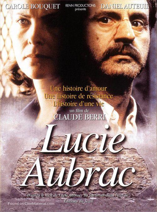 Lucie Aubrac French Dvd Cover Aubrac Dvd Daniel Auteuil