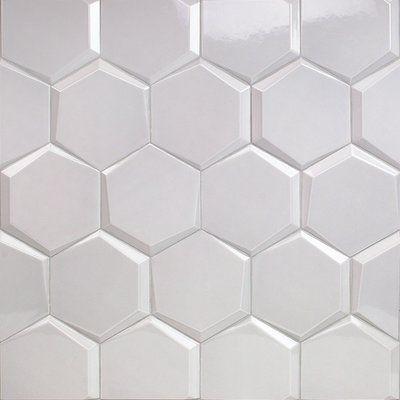 Ivy Hill Tile Bethlehem Hexagon 6 X 7 Ceramic Field Tile