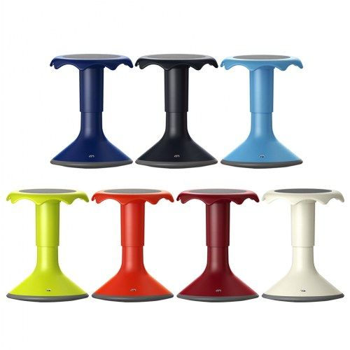 Hokki Plus Adjustable Flexible Seating Ergonomic Stool Small 15