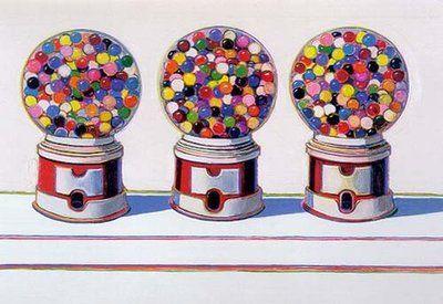 Three Machines by Wayne Thiebaud