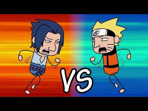 قتال ناروتو أوزوماكي ضد ساسوكي أوتشيها Naruto Vs Sasuke Zitoonz Animation Youtube Funny Fights Naruto Naruto Uzumaki