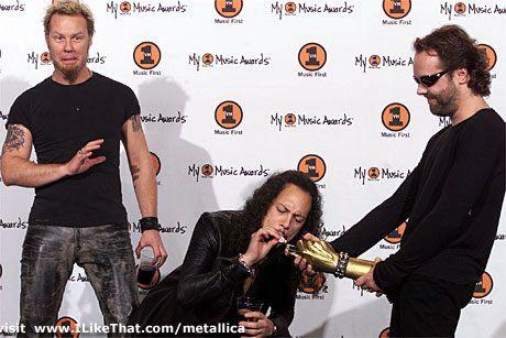 James, Kirk & Lars