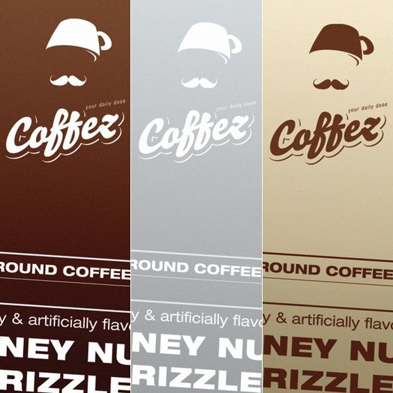 Really fun and clever design for a cafe mixing fez and coffee together