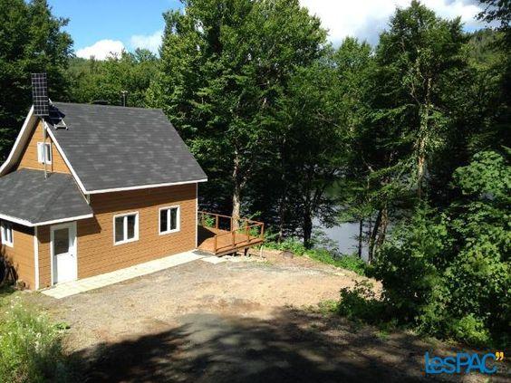 Chalet à vendre au Lac Brulé (Francis), Mauricie Usagé à vendre à Lac-aux-Sables - LesPac.com Immobilier Lac-aux-Sables