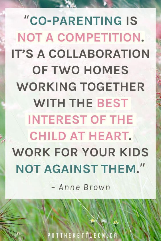"""Co-parenting quote... """"Co-parenting is not a competition. It's a collaboration of two homes working together with the best interest of the child at heart. Work for your kids not against them"""". #stepparenting #bonusmom #stepparents #stepmoms #stepmomming #parentingquotes #parentingtips #blendedfamily #coparenting #coparentingstruggles #blendedfamilies #quotestoliveby"""
