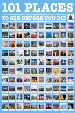 Places To Visit List