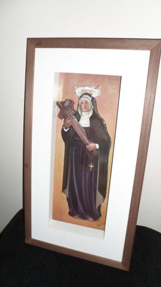 Santa Rita de Cassia em Arte Francesa | As Caprichosas | Elo7