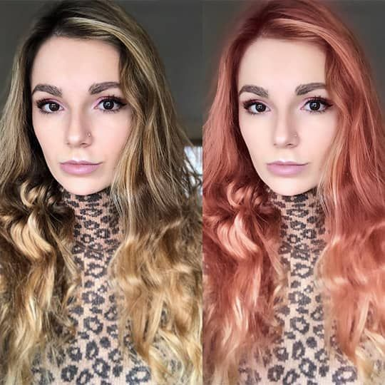 8 Free Hair Color Change Apps Hair Com In 2020 Change Hair Color Hair Colour App Salon Hair Color