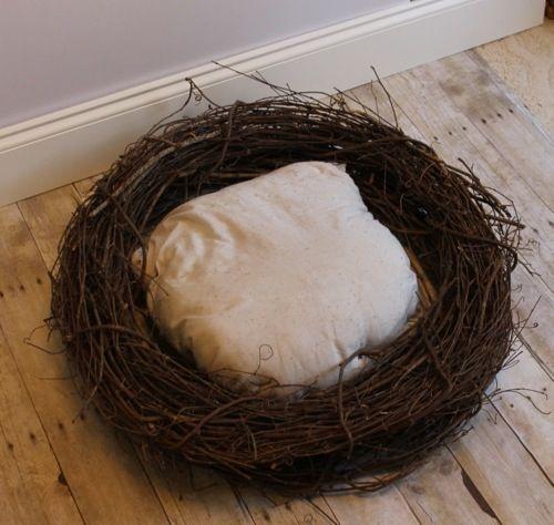 DIY Baby Photography Nest | purple lemon project