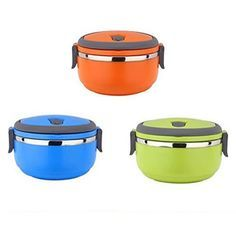 Bento Stainless Steel Portable Thermal Lunch Box/Food Container