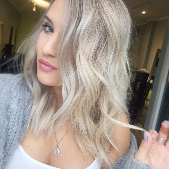Ash Blonde Balayage Hairstylegalleries Com
