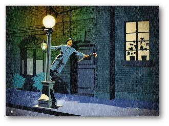 Póster Alternativo de la película Cantando bajo la lluvia