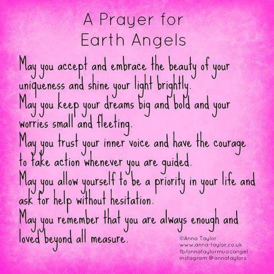Earth Angles Prayer