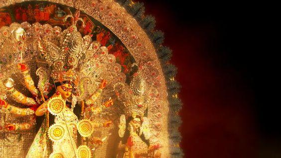 Goddess Durga by Prajakta P. Goddess Durga is considered the supreme goddess who killed demon Durgamaasura.