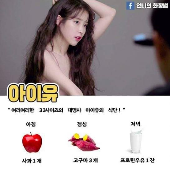Kpop Idol Diet Dietplan Kpop Diet Korean Diet Iu Diet
