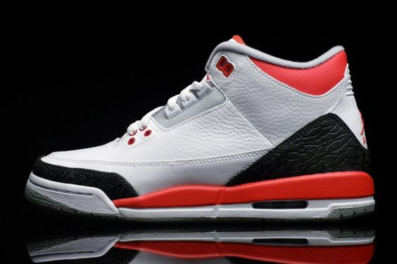 Nike Air Jordan 3 III Fire Red Retro GS 398614-120 | Buy Online