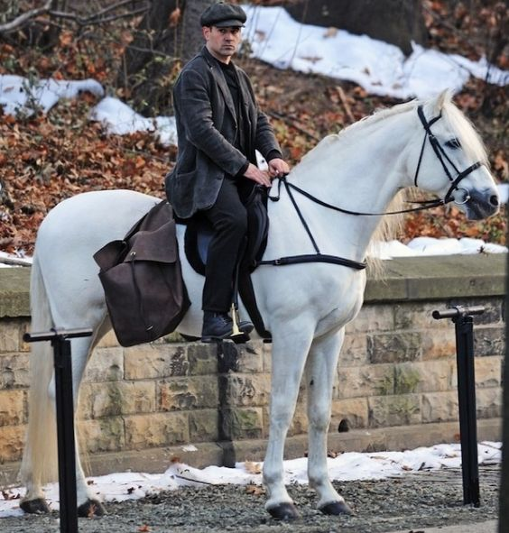 colin farrell hot guys on horses