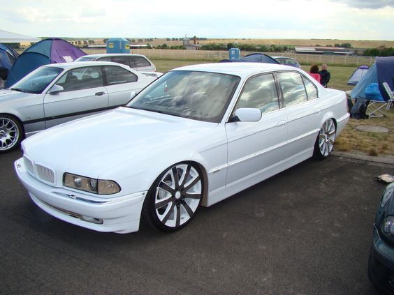White Bmw 7 Series E38 Bmw E38 Pinterest Bmw And Bmw