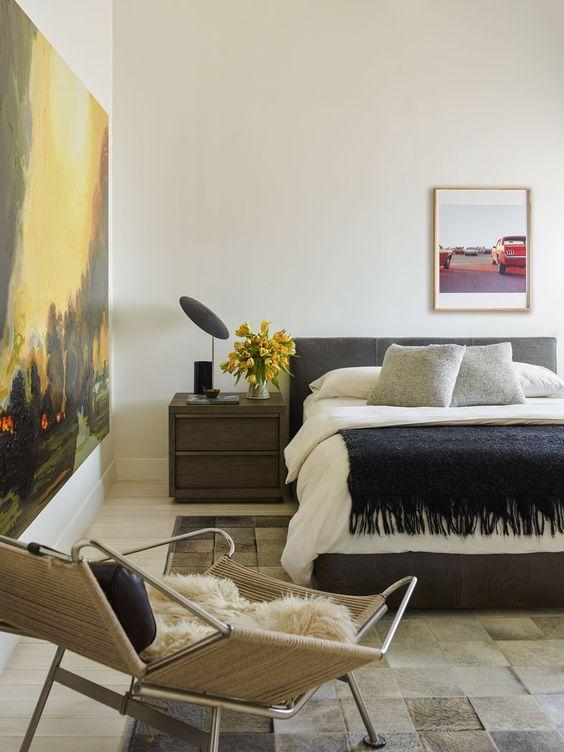 ニューヨーク インテリア 寝室 マンハッタン コーディネート例