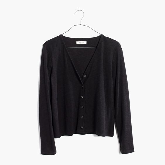 Madewell Knit Button-Down Top